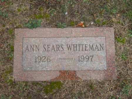 WHITEMAN, ANN - Barnstable County, Massachusetts | ANN WHITEMAN - Massachusetts Gravestone Photos