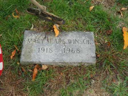 SEARS WINSOR, MARY - Barnstable County, Massachusetts | MARY SEARS WINSOR - Massachusetts Gravestone Photos