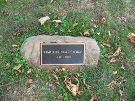 WOLF, TIMOTHY SEARS - Barnstable County, Massachusetts | TIMOTHY SEARS WOLF - Massachusetts Gravestone Photos