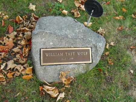 WOLF, WILLIAM TAFT - Barnstable County, Massachusetts | WILLIAM TAFT WOLF - Massachusetts Gravestone Photos