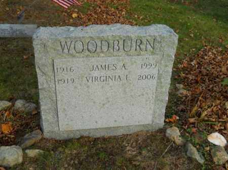 WOODBURN, JAMES A - Barnstable County, Massachusetts | JAMES A WOODBURN - Massachusetts Gravestone Photos