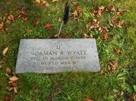 WYATT (WWII), NORMAN R - Barnstable County, Massachusetts | NORMAN R WYATT (WWII) - Massachusetts Gravestone Photos