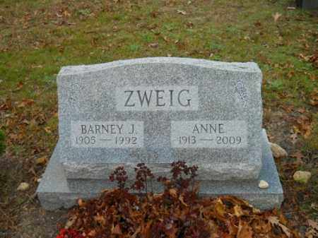 ZWEIG, BARNEY J - Barnstable County, Massachusetts | BARNEY J ZWEIG - Massachusetts Gravestone Photos