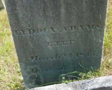 ADAMS, LYDDIA - Berkshire County, Massachusetts | LYDDIA ADAMS - Massachusetts Gravestone Photos
