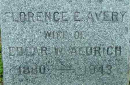 AVERY, FLORENCE E - Berkshire County, Massachusetts | FLORENCE E AVERY - Massachusetts Gravestone Photos