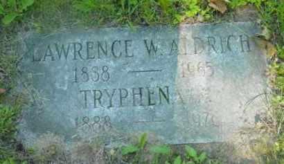 ALDRICH, TRYPHENA - Berkshire County, Massachusetts | TRYPHENA ALDRICH - Massachusetts Gravestone Photos