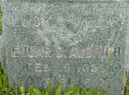 ALDRICH, LUCY A - Berkshire County, Massachusetts | LUCY A ALDRICH - Massachusetts Gravestone Photos