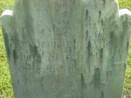 ALLEN, AMEY - Berkshire County, Massachusetts | AMEY ALLEN - Massachusetts Gravestone Photos