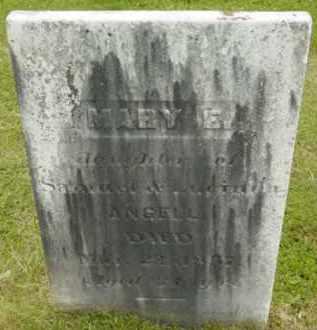 ANGELL, MARY E - Berkshire County, Massachusetts | MARY E ANGELL - Massachusetts Gravestone Photos