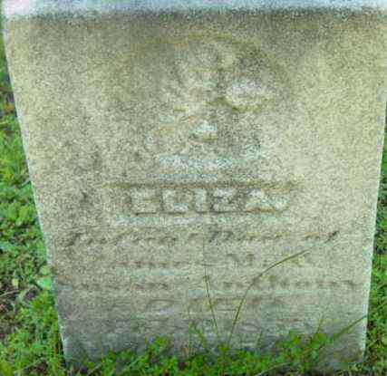 ANTHONY, ELIZA - Berkshire County, Massachusetts | ELIZA ANTHONY - Massachusetts Gravestone Photos