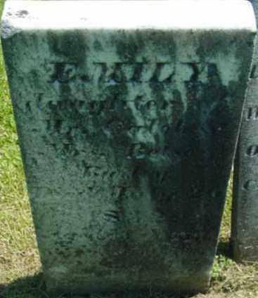 BAILEY, EMILY - Berkshire County, Massachusetts | EMILY BAILEY - Massachusetts Gravestone Photos