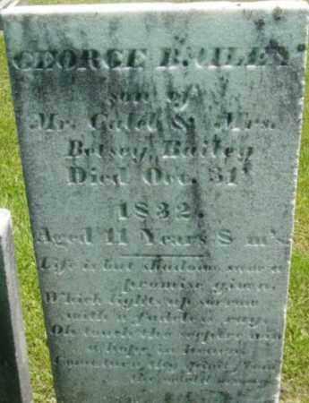 BAILEY, GEORGE - Berkshire County, Massachusetts   GEORGE BAILEY - Massachusetts Gravestone Photos