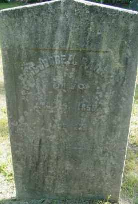 BAILEY, THEODORE - Berkshire County, Massachusetts | THEODORE BAILEY - Massachusetts Gravestone Photos
