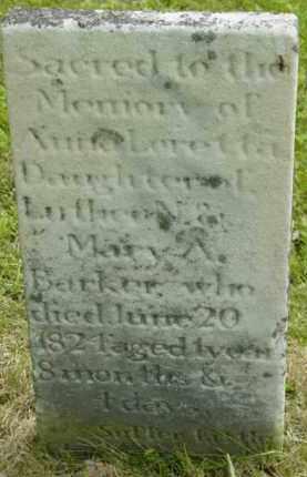 BAKER, ANNE LORETTA - Berkshire County, Massachusetts   ANNE LORETTA BAKER - Massachusetts Gravestone Photos