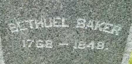 BAKER, BETHUEL - Berkshire County, Massachusetts | BETHUEL BAKER - Massachusetts Gravestone Photos
