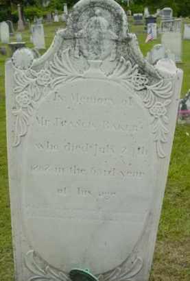 BAKER, FRANCIS - Berkshire County, Massachusetts   FRANCIS BAKER - Massachusetts Gravestone Photos