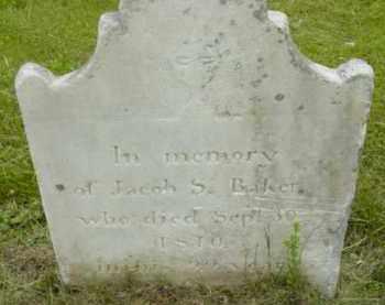 BAKER, JACOB S - Berkshire County, Massachusetts   JACOB S BAKER - Massachusetts Gravestone Photos