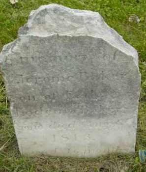 BAKER, JEROME - Berkshire County, Massachusetts   JEROME BAKER - Massachusetts Gravestone Photos