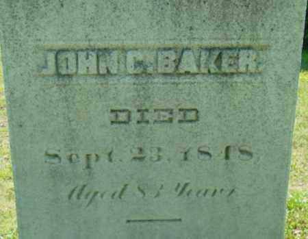BAKER, JOHN C - Berkshire County, Massachusetts | JOHN C BAKER - Massachusetts Gravestone Photos