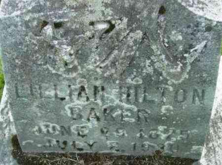 BAKER, LILLIAN - Berkshire County, Massachusetts   LILLIAN BAKER - Massachusetts Gravestone Photos