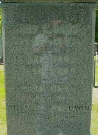 BANGS, SARAH - Berkshire County, Massachusetts | SARAH BANGS - Massachusetts Gravestone Photos