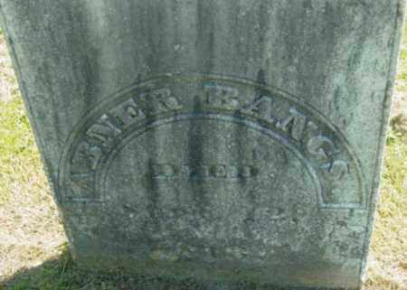 BANGS, ABNER - Berkshire County, Massachusetts | ABNER BANGS - Massachusetts Gravestone Photos
