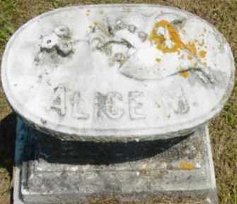 BANGS, ALICE M - Berkshire County, Massachusetts   ALICE M BANGS - Massachusetts Gravestone Photos