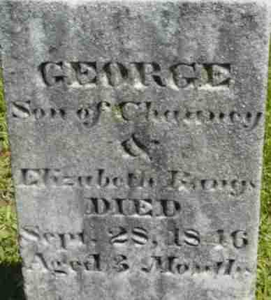 BANGS, GEORGE - Berkshire County, Massachusetts | GEORGE BANGS - Massachusetts Gravestone Photos