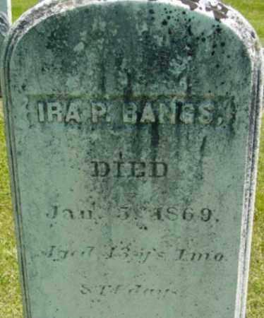 BANGS, IRA P - Berkshire County, Massachusetts | IRA P BANGS - Massachusetts Gravestone Photos