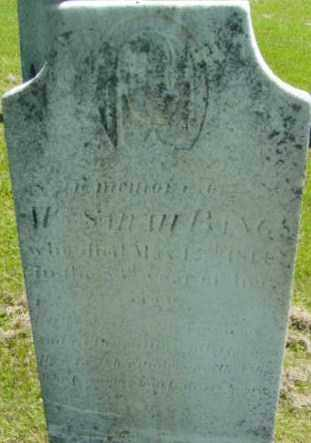 BANGS, SARAH - Berkshire County, Massachusetts | SARAH BANGS - Massachusetts Gravestone Photos