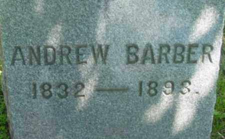 BARBER, ANDREW - Berkshire County, Massachusetts | ANDREW BARBER - Massachusetts Gravestone Photos