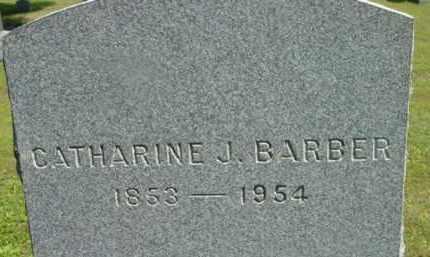 BARBER, CATHARINE J - Berkshire County, Massachusetts | CATHARINE J BARBER - Massachusetts Gravestone Photos