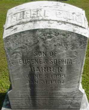 BARBER, EUGENE C - Berkshire County, Massachusetts | EUGENE C BARBER - Massachusetts Gravestone Photos