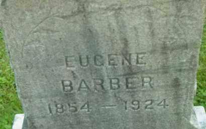 BARBER, EUGENE - Berkshire County, Massachusetts | EUGENE BARBER - Massachusetts Gravestone Photos