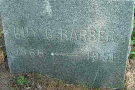 BARBER, GUY G - Berkshire County, Massachusetts | GUY G BARBER - Massachusetts Gravestone Photos