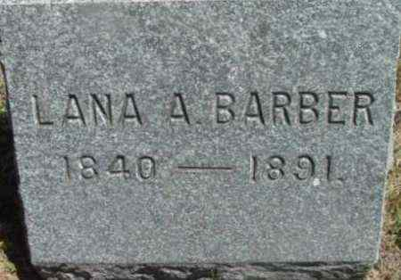 BARBER, LANA A - Berkshire County, Massachusetts | LANA A BARBER - Massachusetts Gravestone Photos