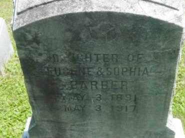 BARBER, MARY - Berkshire County, Massachusetts   MARY BARBER - Massachusetts Gravestone Photos