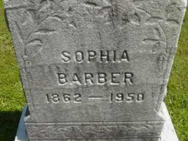 BARBER, SOPHIA - Berkshire County, Massachusetts | SOPHIA BARBER - Massachusetts Gravestone Photos