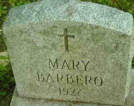 BARBERO, MARY - Berkshire County, Massachusetts | MARY BARBERO - Massachusetts Gravestone Photos