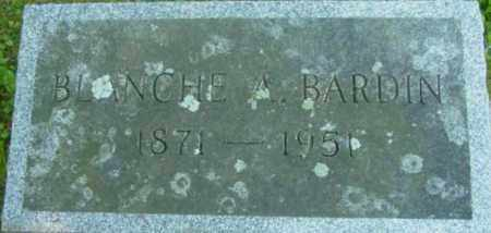 BARDIN, BLANCHE A - Berkshire County, Massachusetts | BLANCHE A BARDIN - Massachusetts Gravestone Photos
