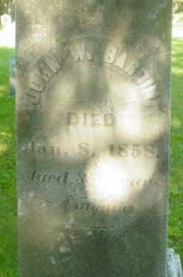 BARDIN, JOHN W - Berkshire County, Massachusetts   JOHN W BARDIN - Massachusetts Gravestone Photos