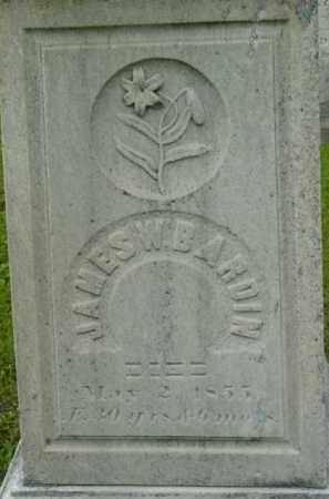 BARDIN, JAMES W - Berkshire County, Massachusetts   JAMES W BARDIN - Massachusetts Gravestone Photos
