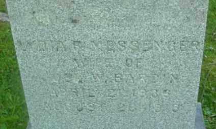 MESSENGER, LYDIA F - Berkshire County, Massachusetts | LYDIA F MESSENGER - Massachusetts Gravestone Photos