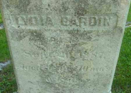 BARDIN, LYDIA - Berkshire County, Massachusetts | LYDIA BARDIN - Massachusetts Gravestone Photos