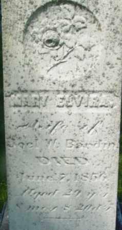 BARDIN, MARY ELVIRA - Berkshire County, Massachusetts | MARY ELVIRA BARDIN - Massachusetts Gravestone Photos