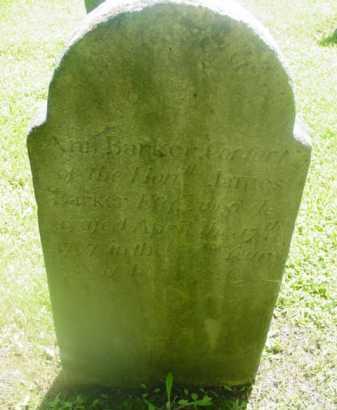 BARKER, ANN - Berkshire County, Massachusetts | ANN BARKER - Massachusetts Gravestone Photos