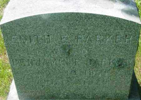 BARKER, EDITH E - Berkshire County, Massachusetts | EDITH E BARKER - Massachusetts Gravestone Photos