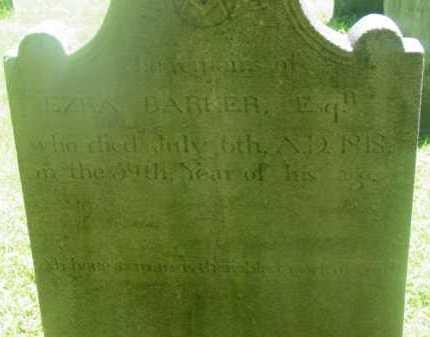 BARKER, EZRA - Berkshire County, Massachusetts | EZRA BARKER - Massachusetts Gravestone Photos