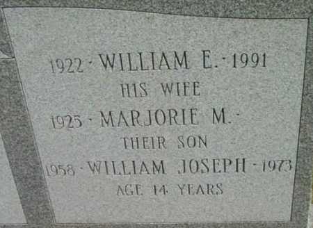 BARRY, WILLIAM E - Berkshire County, Massachusetts   WILLIAM E BARRY - Massachusetts Gravestone Photos