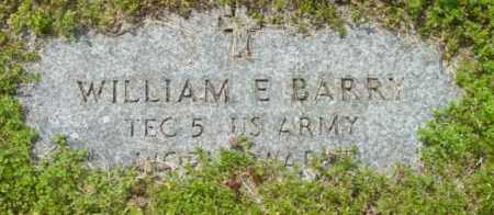 BARRY, WILLIAM E - Berkshire County, Massachusetts | WILLIAM E BARRY - Massachusetts Gravestone Photos